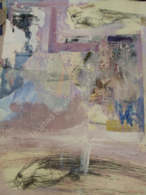 Wendy Couling Masterclass Images- Develop new techniques with Mixed Media
