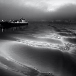 ferry bw