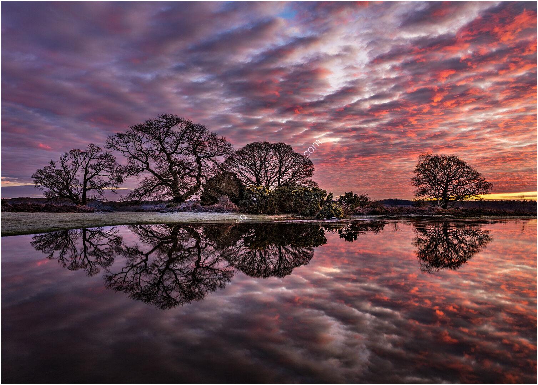 Gary -  sunrise reflection - First