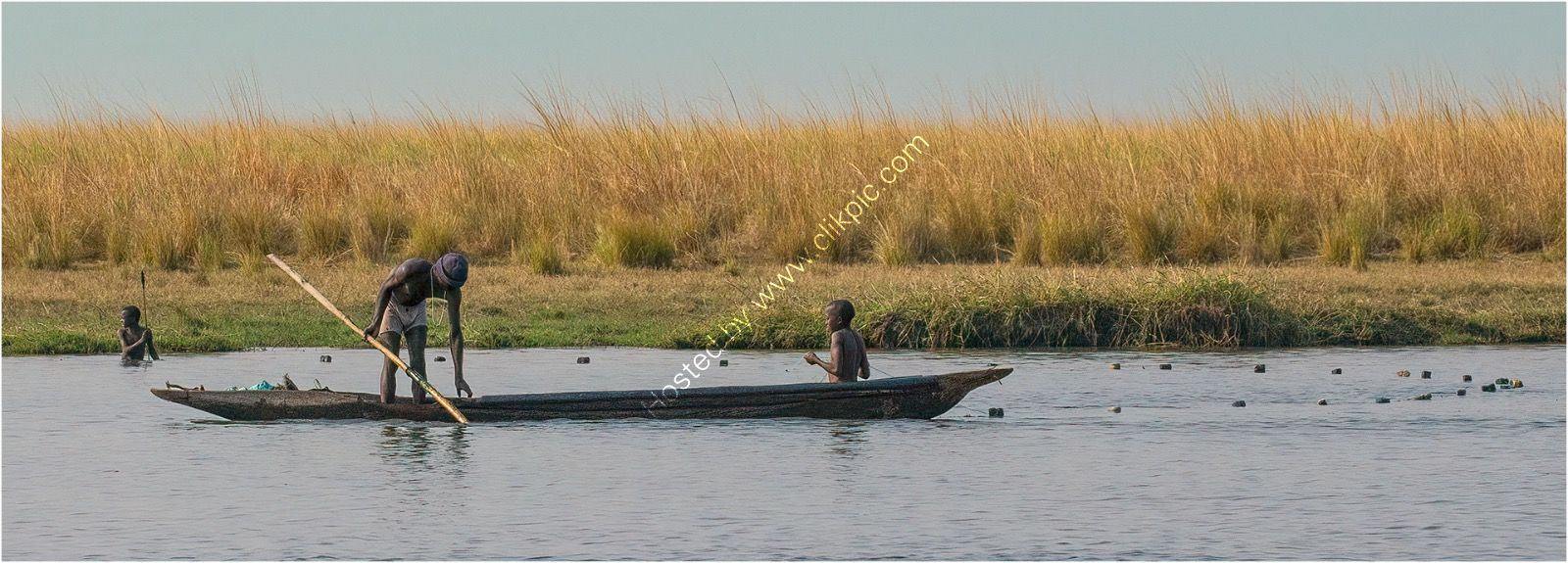 H/C Mick Parmenter-Fishing in the croc infested Chobe river