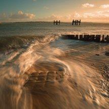 HC Ross Hanson-Lepe beach sunset the beauty of water