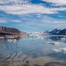Svalbard seascape