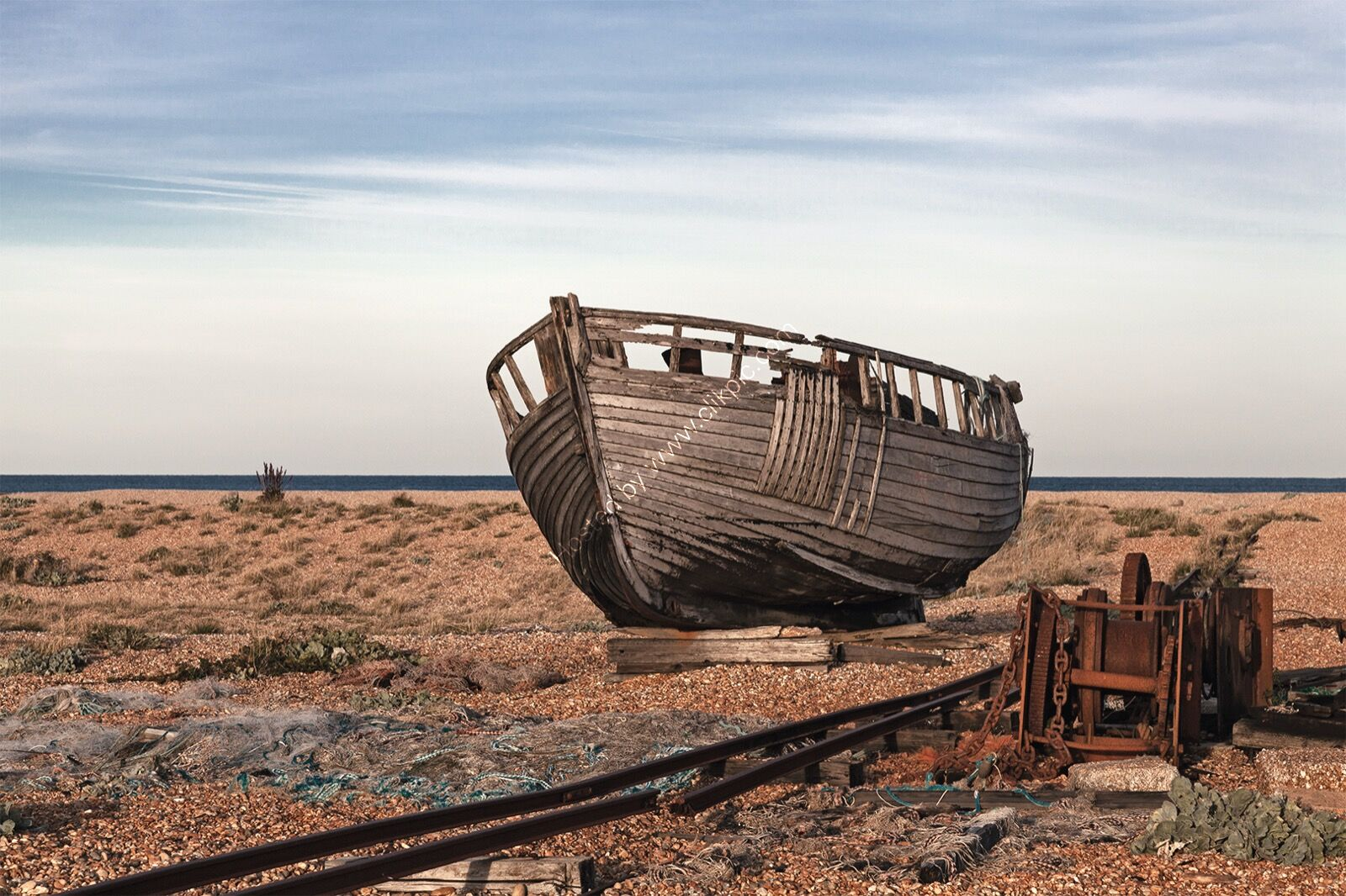 Wrecked at Dungeness