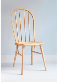 Arden side chair in ash designed by Chris Eckersley