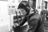 Balazs (a.k.a.'B') : Wood Machinist  B has been with us for 6 months.