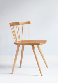 Tottenham Court Mod side chair in ash designed by Chris Eckersley