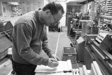 Richard : Woodturner, Machinist, and CNC Operator  Richard has been with us for 22 years.