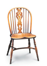 SF14 LARGE GEORGIAN SIDECHAIR  This chair is similar to the Stickback Sidechair but has a central fretworked splat - a typical decorative detail of the Georgian period.