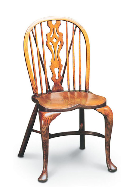 SF15 CABRIOLE LEGS - GEORGIAN SIDECHAIR <br>This is the up-market version of the Georgian Sidechair, with its more elaborate cabriole legs.