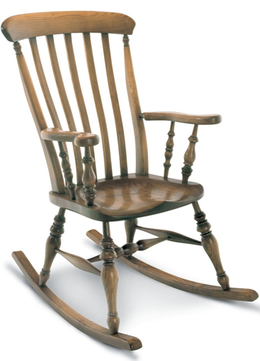 SF33R FARMHOUSE ROCKING ARMCHAIR <br> The Rocking Chair version of the Farmhouse Armchair. Every tradition