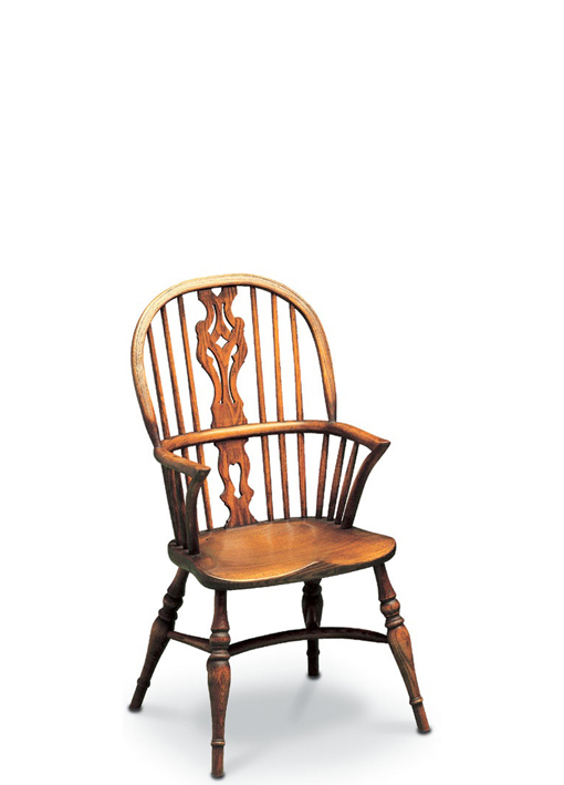 SF6 CHILD'S GEORGIAN DOUBLE BOW <br> Another charming children's chair, modelled on the Georgian Double Bow.