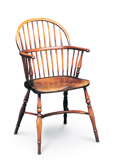 SF8 STICKBACK LOW CHAIR  <br> The Low Bow, as its name implies, has a lower back and was often referred<br> to as a <i>ladies' chair</i>.