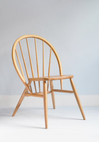 Sunray side chair in ash designed by William Warren