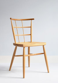 Tenta side chair in oak designed by Koji Katsuragi