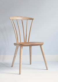 Thetford side chair in ashdesigned by Dave Green