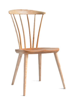 Thetford side chair in ash