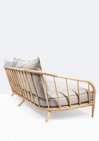 Stix sofa in ash designed by Ian Archer