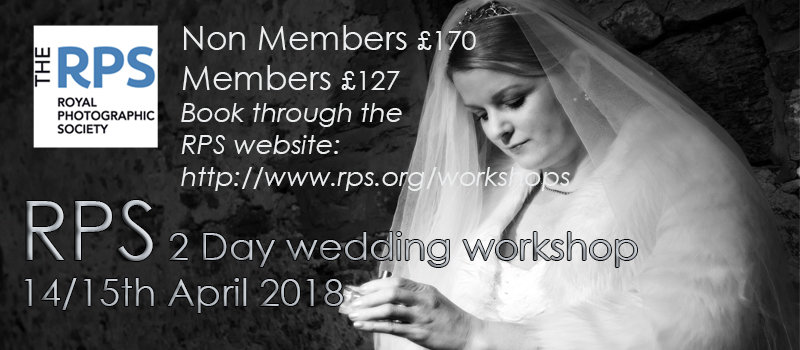 RPS wedding workshop 14/15 April