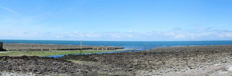 Lynmouth beach