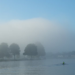 Foggy morning in Henley