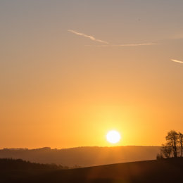 Sunrise Brightwell Barrow
