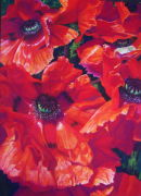 Poppies 2 SOLD prints available £75