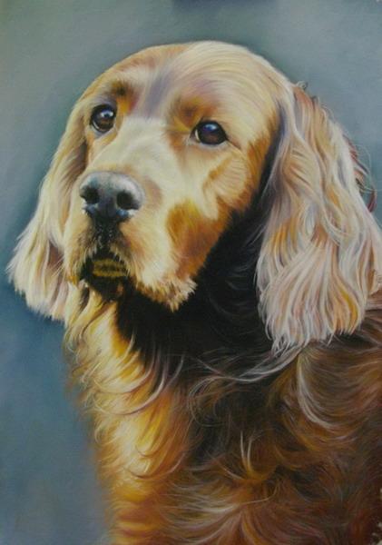 Rosie, Pastel, commission