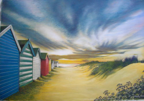 Southwold after the Storm SOLD