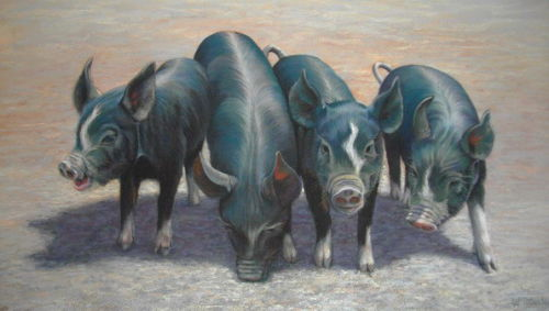 These Little Piggies Stayed at Home £450