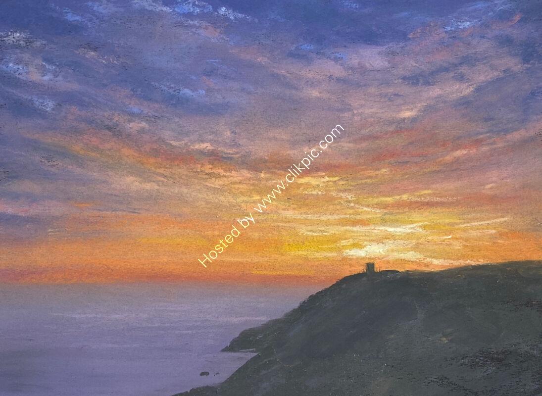 Sunset at Torteval