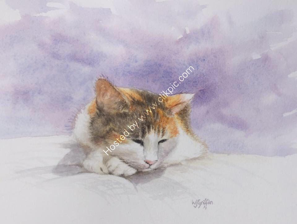 """""""Millie"""" (watercolour)"""