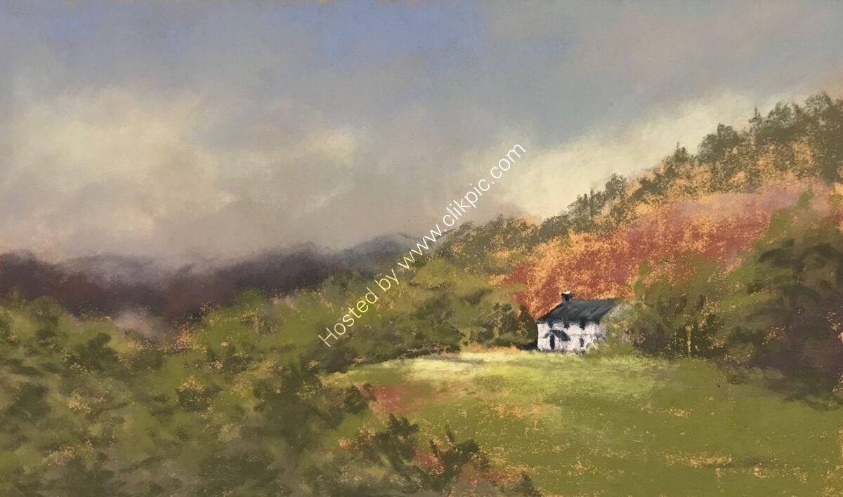 Farm on the hill, Loughrigg
