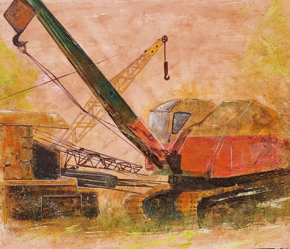 'Machines for Restoration' Bursledon Brickworks Museum, 2018 - SOLD