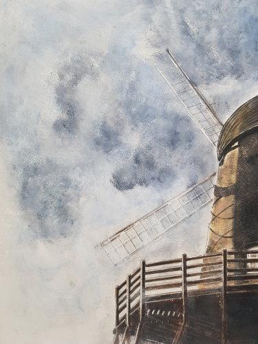 Bursledon Windmill, 2018 (SOLD)