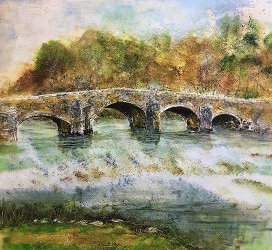 Bridge at Bickleigh, Devon 2018