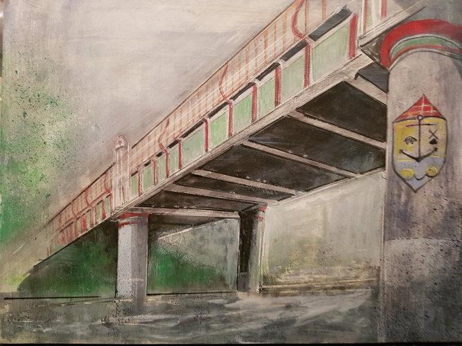 The Railway Bridge, 2018 (SOLD)