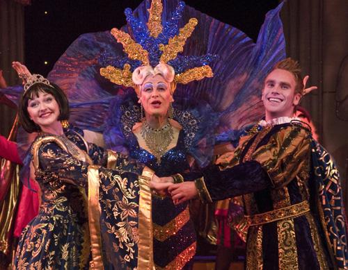 Snow White, Dame Dolly Doughnut and the Prince Alexei