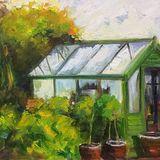 Jackie's Greenhouse (oils) £150