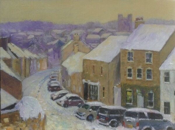 Frenchgate, Richmond (oils) £350 Available from The Chapel Gallery, Hawes