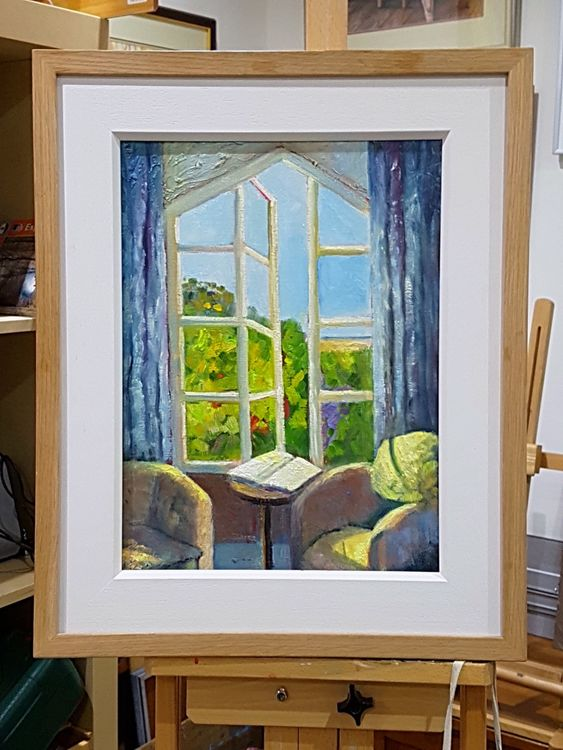 Room at The Crown and Castle, Orford, Suffolk (oils) £140