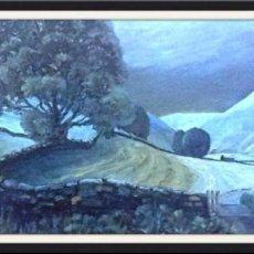 """Swaledale in Moonlight (oils) £160 (20x16"""")"""