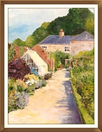Garden at Old Sleningford (oils) £150