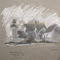 Fort Pownall Lighthouse, MA