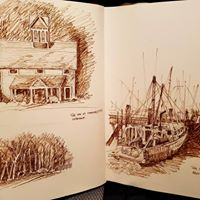New England Sketches 2018