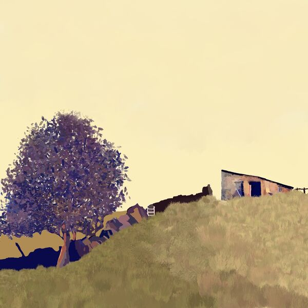 Swaledale Barn (digital) Limited edition prints £70