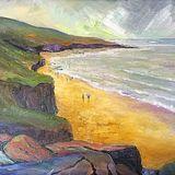 A Bit of a Walk (oils on canvas) 40 x 30 cms £100