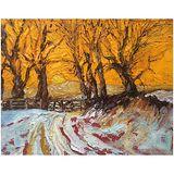 Wensleydale in Snow (oils) 10x8 £150