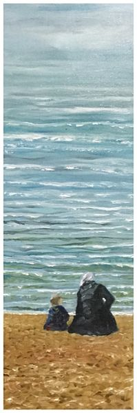 With Nanna by the Shore SOLD