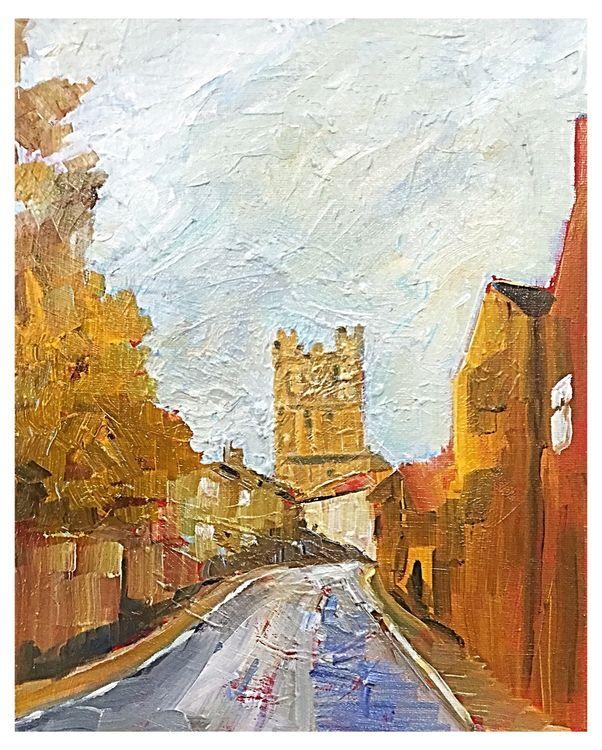 Richmond (oils)  20 x 26 cms £60