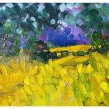 """Summer Glade, Wensleydale (oils) (8x6"""") £150"""